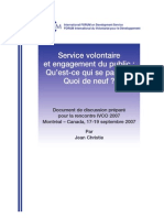 IVCO 2007 Public Engagement Fr