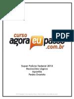 PDF AEP SPF2013 RaciocinioLogico Apostila PedroEvaristo