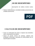 CÁLCULOS DE DESEMPENHO
