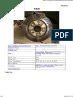 Changing Rotors Brake