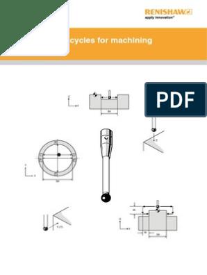 Easy Probing Renishaw | Calibration | Rotation Around A