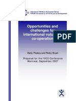 IVCO 2007 Opportunity Challenges