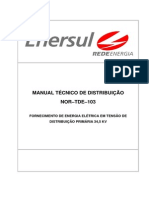 ENERSUL - Manual Tecnico Distribuicao