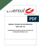 ENERSUL - Manual Tecnico Distribuicao