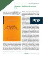 Una necesaria ordenación y clarificación de la norma lingüística castellana