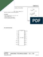ANALOG MULTIPLEXERS/ DEMULTIPLEXERS --- Part Number