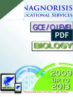Biology O Level 5090 2009 to 2013 Variant 2
