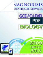 Biology O Level 5090 2009 to 2013 Variant 2