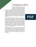 Las Culturas Prehispánicas de México - 97-03.