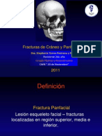 Fracturas Craneales y Panfaciales Stephy 2011