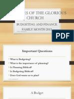 Christian Budgeting & Finance