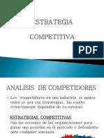 CASO FINAL  ESTRATEGIA COMPETITIVA PRESENTACIÓN