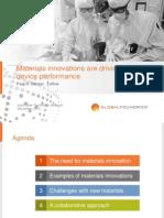 Besser Materials Innovations SST Talk