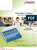 Franklin Educational Catalog
