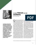 O que Freud viu em Darwin