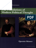 SKINNER Quentin the Foundations of Modern Political Thought Vol 1 the Renaissance[1]