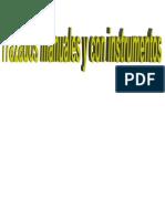 Trazados Manuales y Con Instrumentos