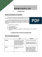 Corporation Law