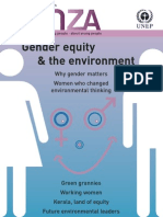 Tunza 4.4 Gender Equity