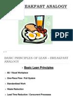 Lean Breakfast Analogy