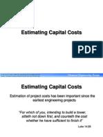 7 Estimating Capital Costs
