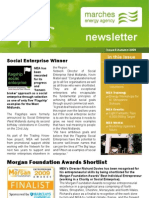 Autumn Newsletter 2009