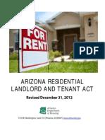 AZ Landlord Tenant Act