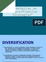 Diversification Strategy
