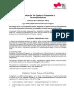 Curriculum TechnicalSciences Engl 2012
