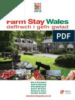 Farmstay Wales 2013