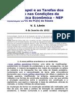 Sobre o papel e as Tarefas dos Sindicatos nas Condições da NEP - Resolução do CC russo.doc