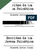 ESCRITOS DE UN JOVEN PSICOTICO