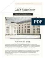 Newsletter Especial Art Madrid 2014