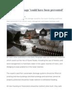 UK Floods Damage 'Could Have Been Prevented'