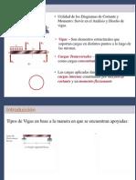 Diagramas de Cortantes y de Momentos 2012