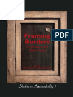 Wolf Werner Framing Borders in Literature and Other Media Studies in Intermediality 1