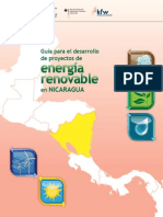 Guía para el desarrollo de energia renovable en nicaragua