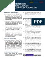 Logros del Sector de Relaciones Exteriores - Francés