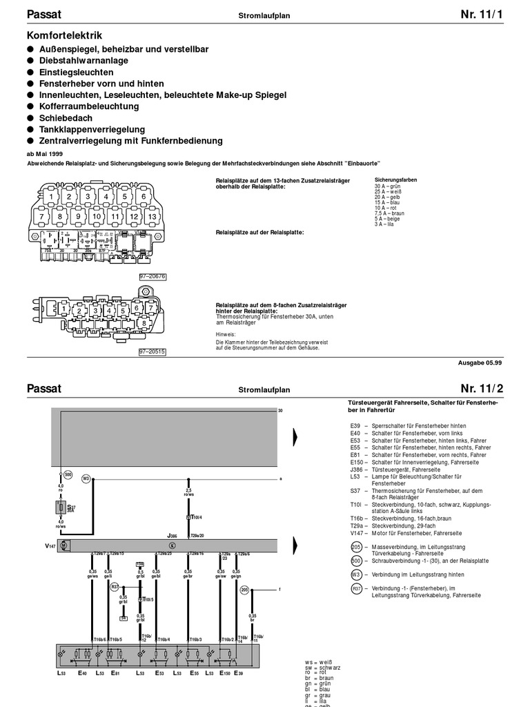 Groß 2012 Vw Passat Schaltplan Zeitgenössisch - Elektrische ...