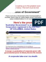 illusion of AUSTRALIAN Government