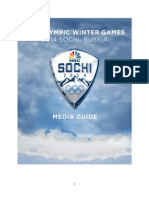 2014 Winter Olympics Media Guide
