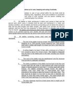 Livestock Draft Ordinance