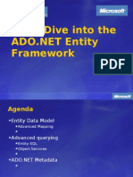 Deep Dive Into the ADO.net Entity Framework