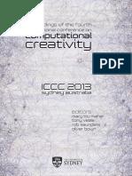 ICCC2013 Proceedings