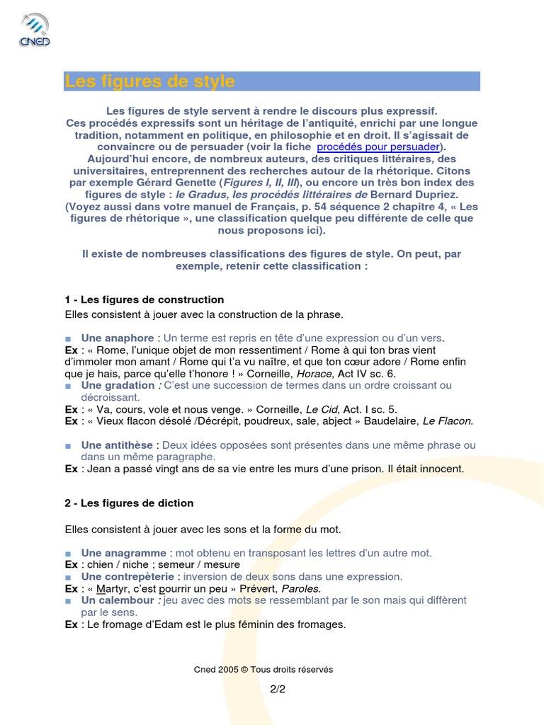 figures_de_style.pdf   Métaphore   Rhétorique