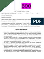 Analicis Proceso No 23754 Maria Mercedes Gomez