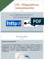 Unidad VI - Dispositivos de Comunicación - 6.3 Protocolos y Estándares