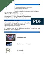 Zedbull User Manual 05092012