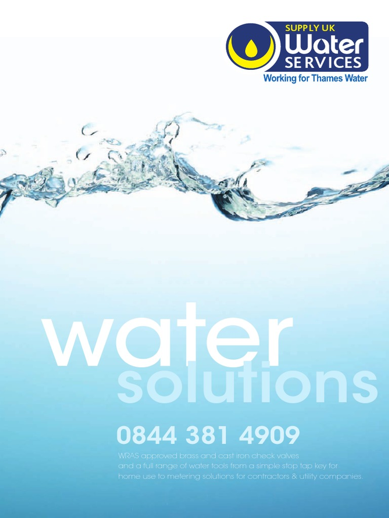 Water+Services+for+Thames+Water+Customers | Valve | Tap (Valve)