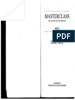 Masterclass the Actor's Audition Manual - Men by Dean Carey